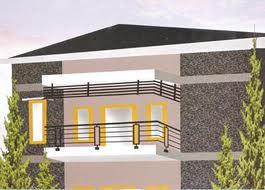Balkon Rumah Pagar Besi Minimalis
